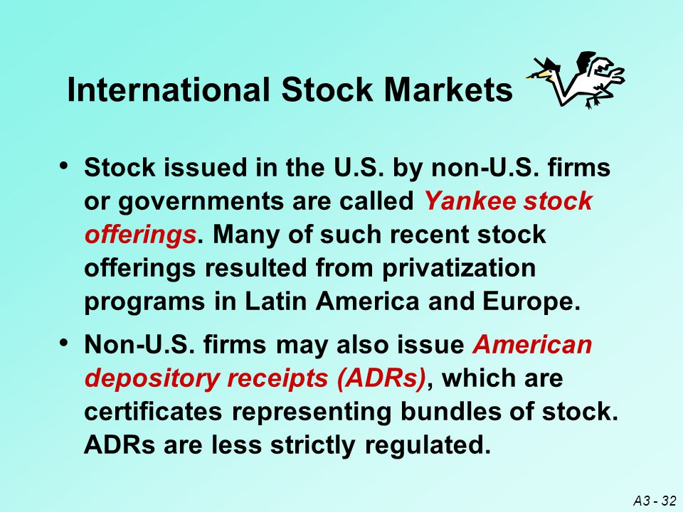 International Stock Markets