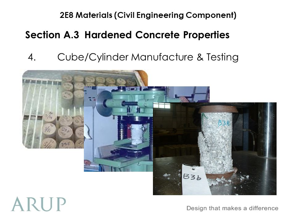 Section A.3 Hardened Concrete Properties