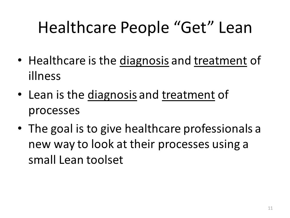 Healthcare People Get Lean