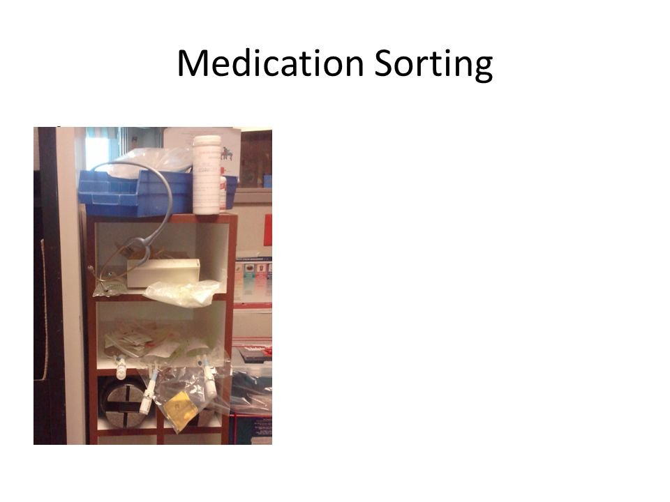 Medication Sorting After ----->
