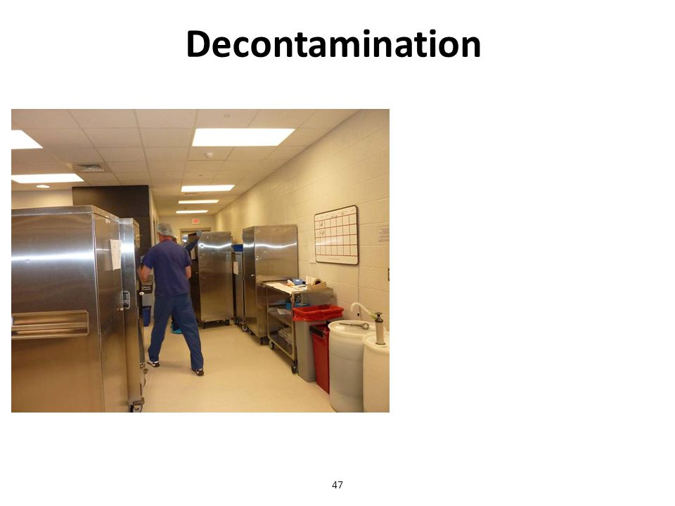Decontamination 47