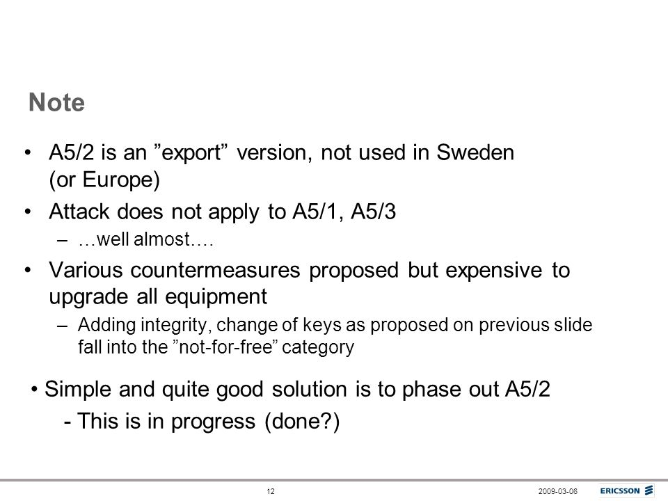 Note A5/2 is an export version, not used in Sweden (or Europe)