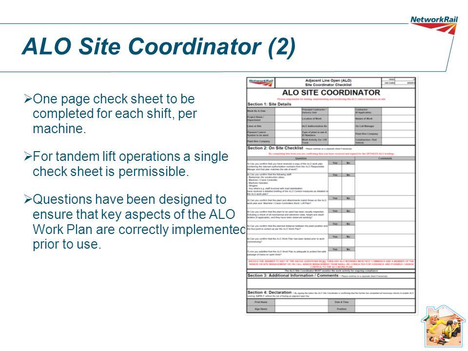 ALO Site Coordinator (2)