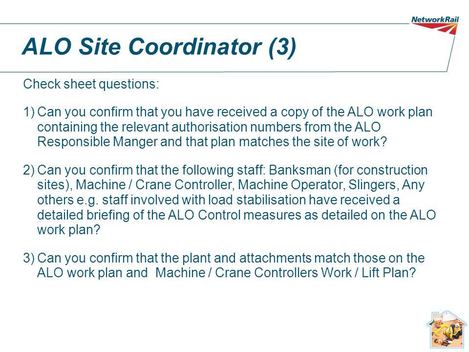 ALO Site Coordinator (3)