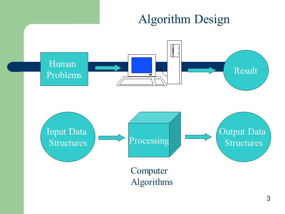 Algorithm Design Result Human Problems Input Data Structures
