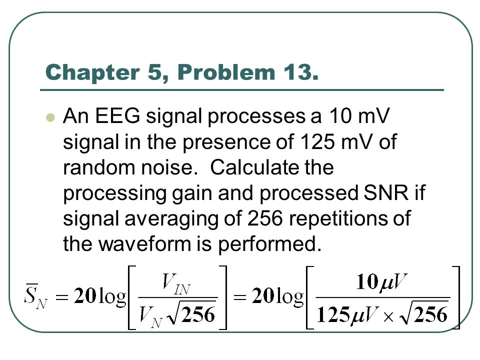 Chapter 5, Problem 13.