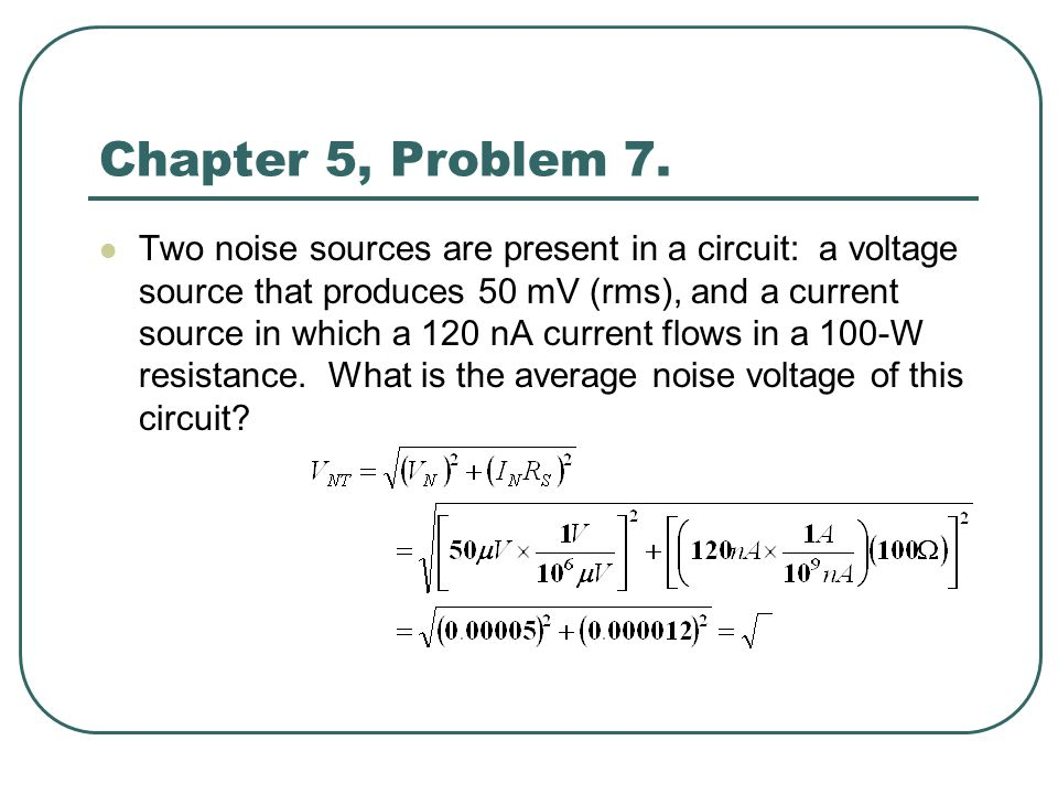 Chapter 5, Problem 7.