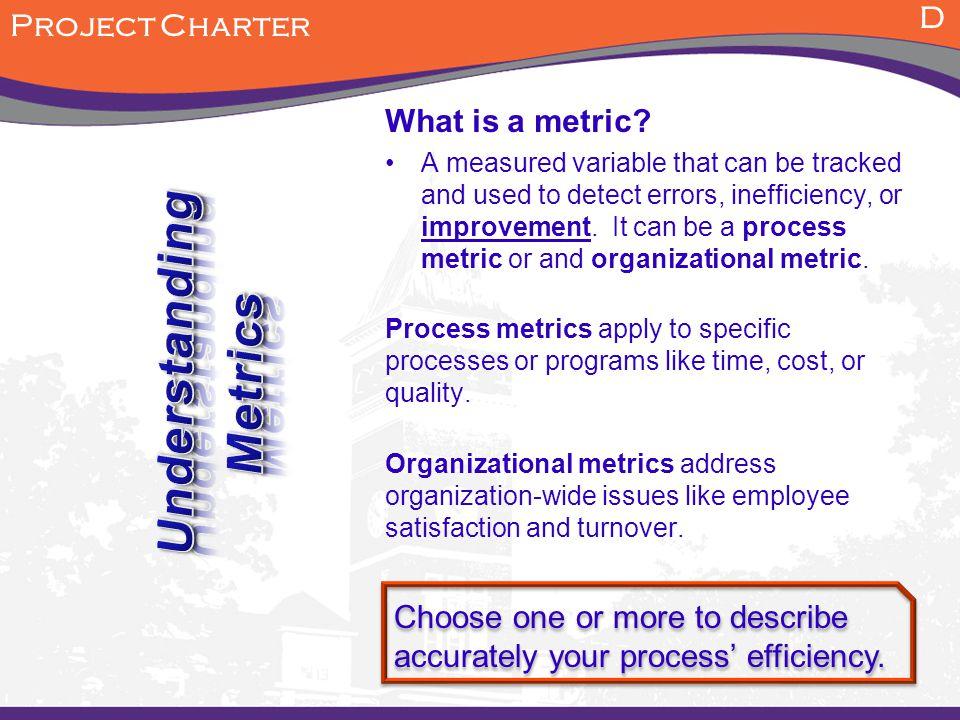 Understanding Metrics