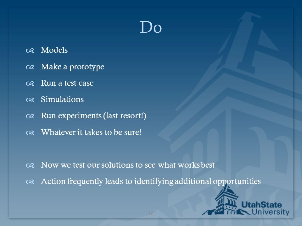 Do Models Make a prototype Run a test case Simulations