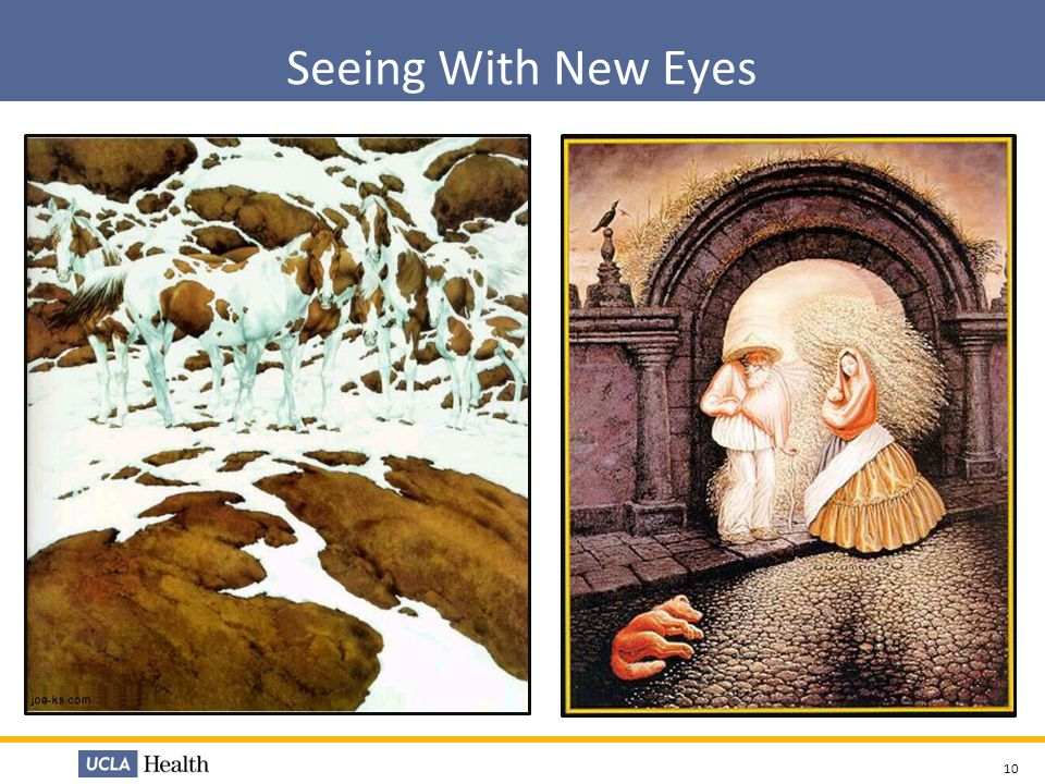 Seeing With New Eyes Lean helps us to question and take a deeper look at the situation at hand. Lean helps us to see beyond the immediate.