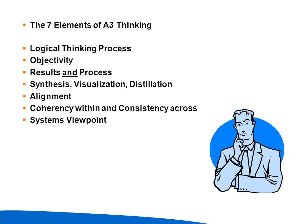 The 7 Elements of A3 Thinking