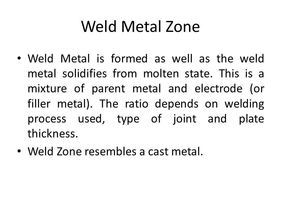 Weld Metal Zone
