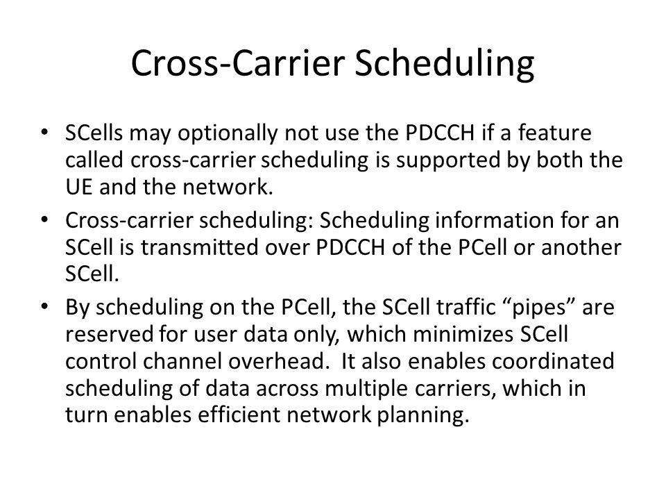 Cross-Carrier Scheduling