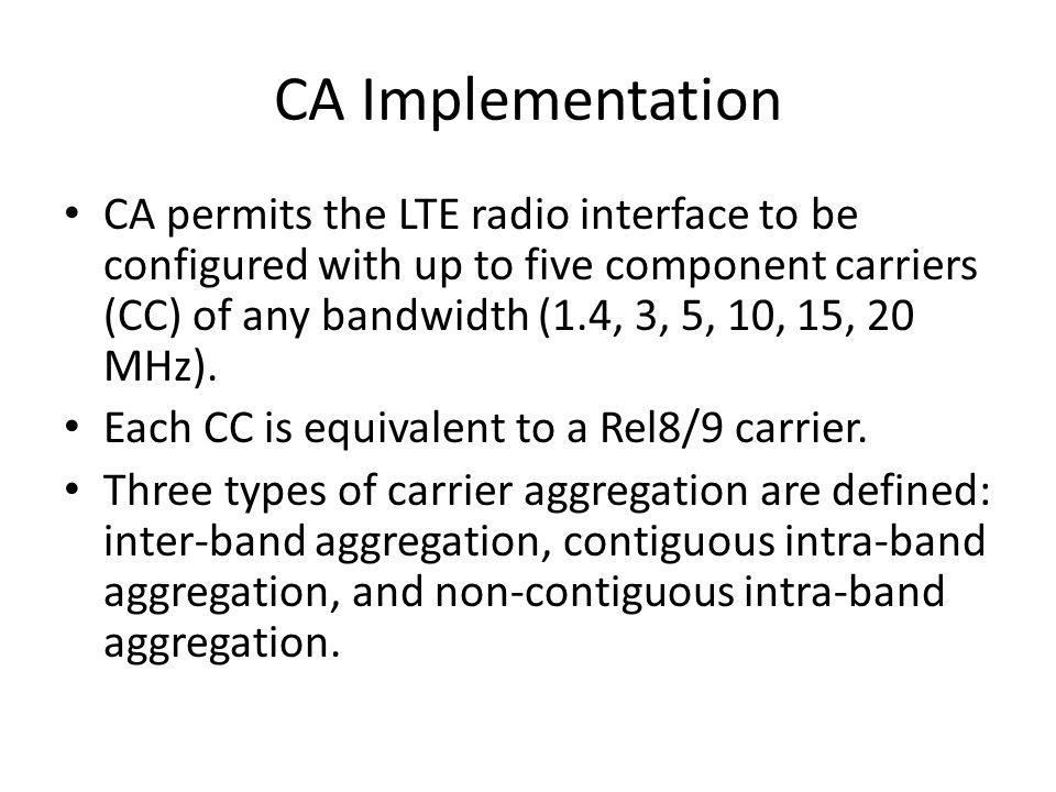 CA Implementation
