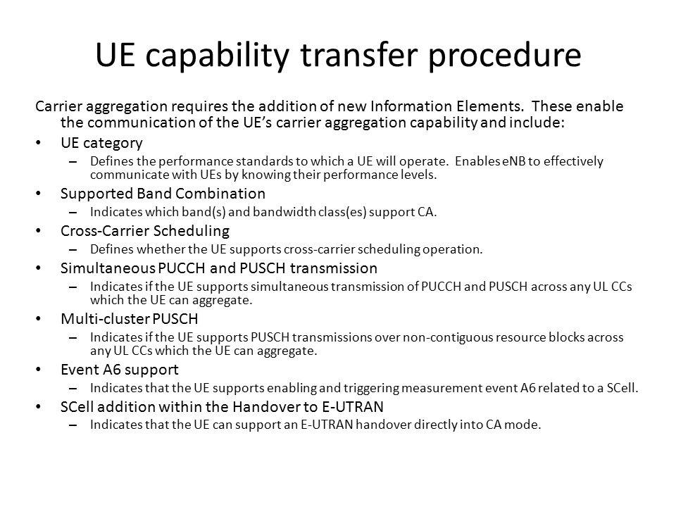 UE capability transfer procedure