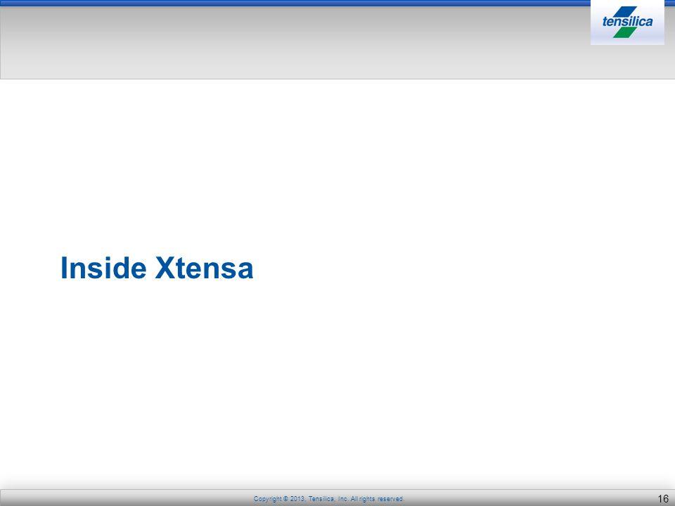 Inside Xtensa