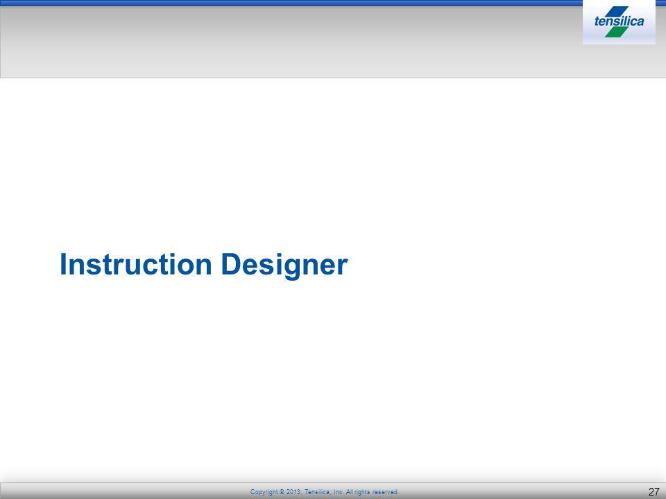 Instruction Designer