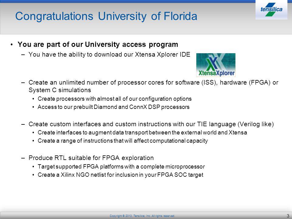 Congratulations University of Florida