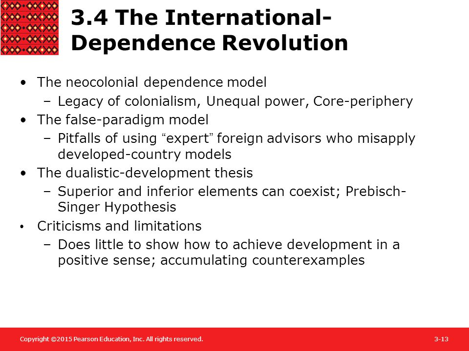 3.4 The International-Dependence Revolution