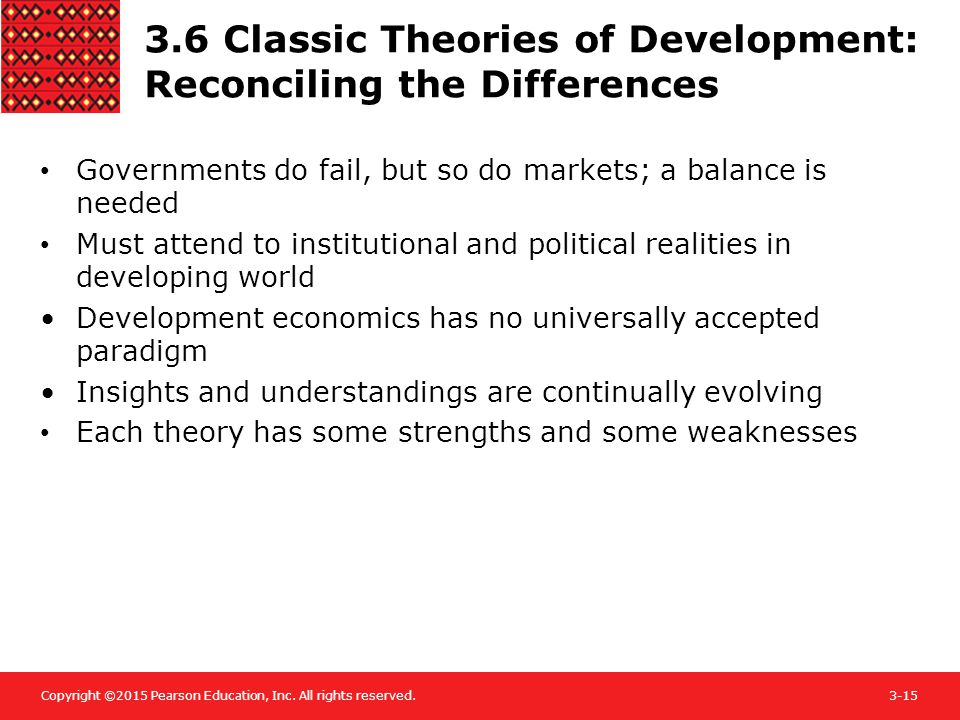 3.6 Classic Theories of Development: Reconciling the Differences