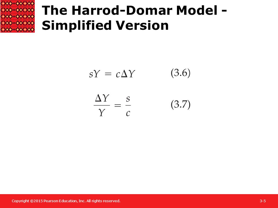 The Harrod-Domar Model - Simplified Version