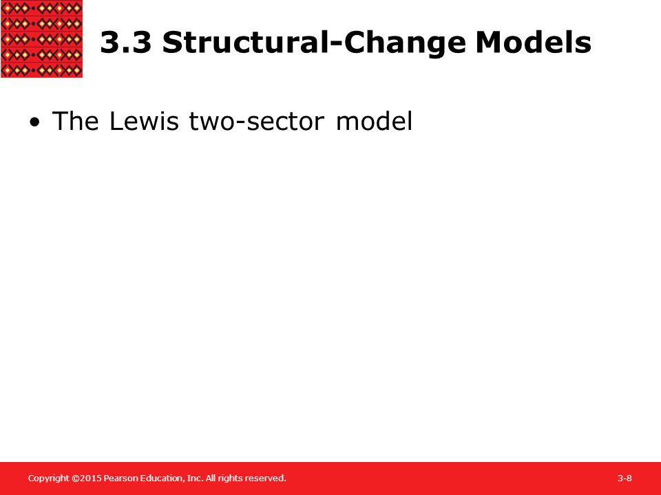 3.3 Structural-Change Models