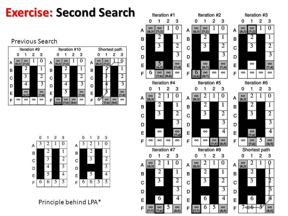 Exercise: Second Search