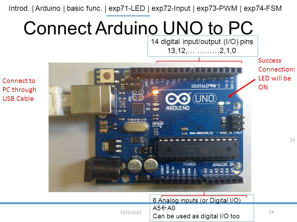 Connect Arduino UNO to PC