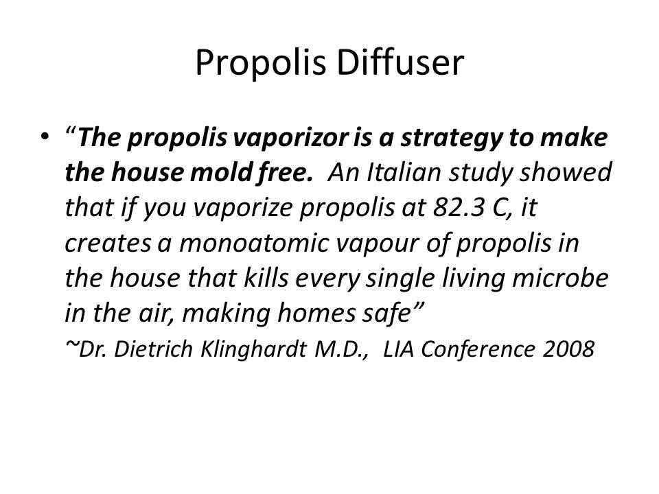 Propolis Diffuser