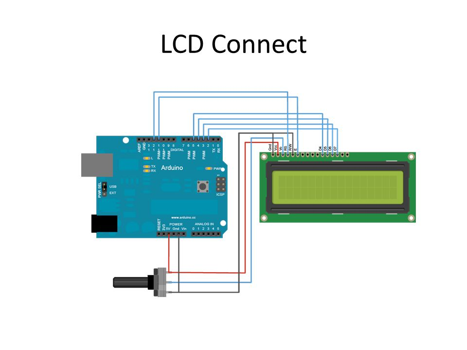LCD Connect