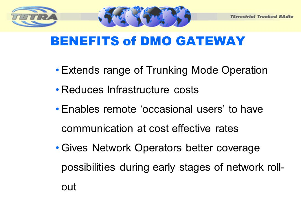 BENEFITS of DMO GATEWAY