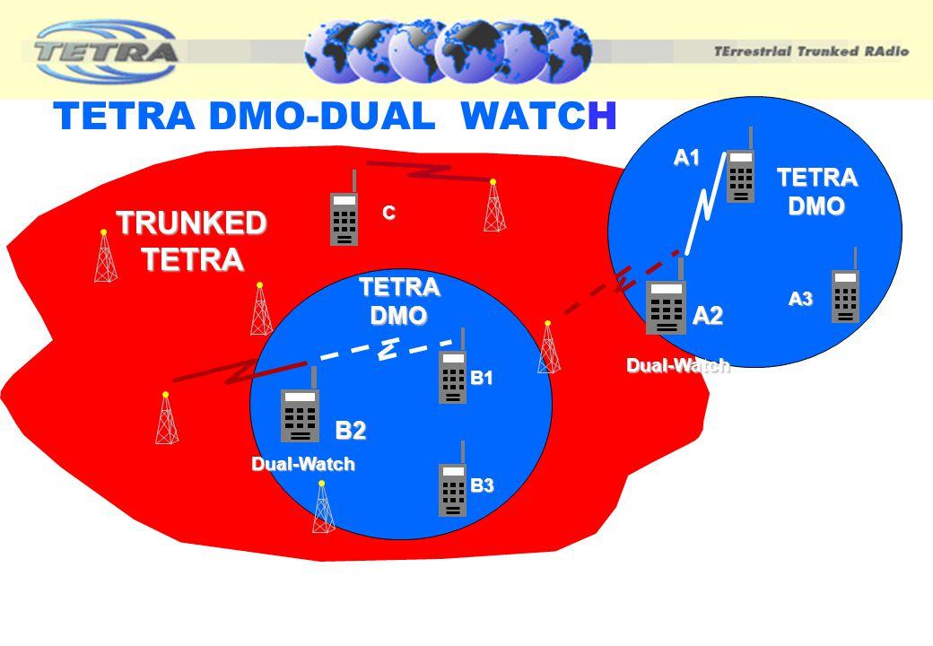 TETRA DMO-DUAL WATCH TRUNKED TETRA TETRA DMO TETRA DMO A2 B2 A1 C A3