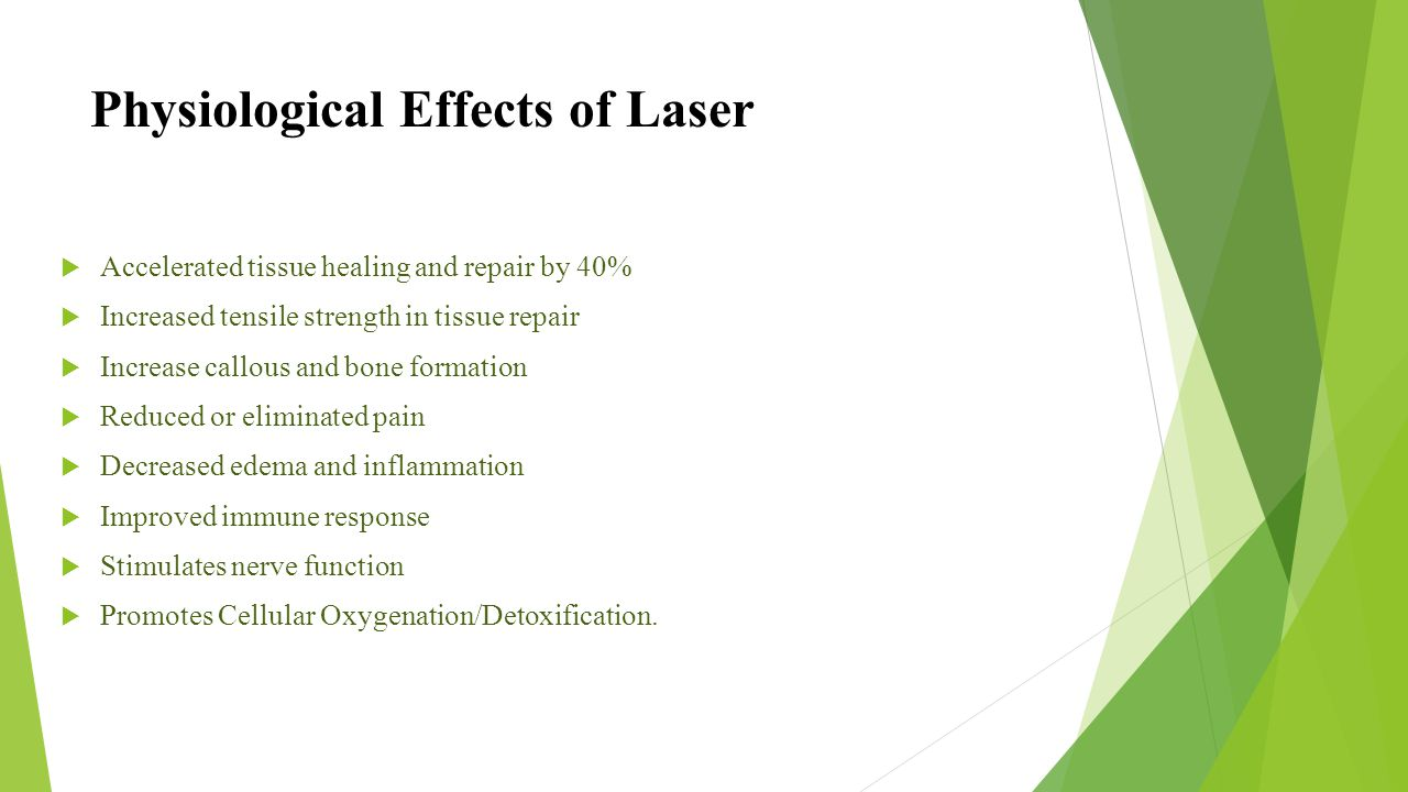Physiological Effects of Laser
