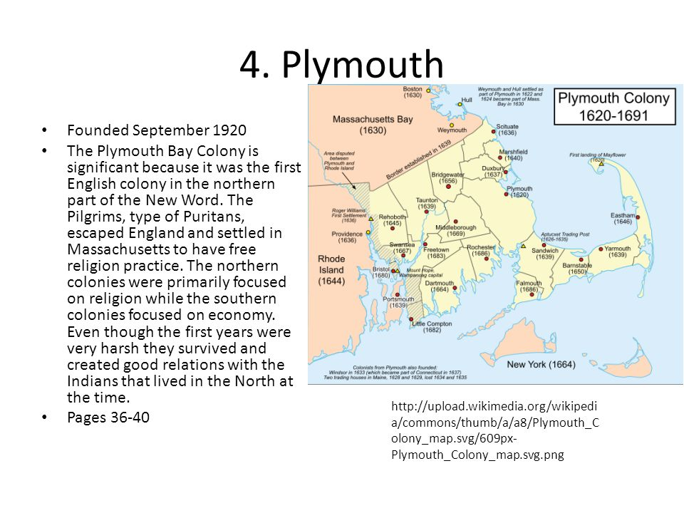4. Plymouth Founded September 1920