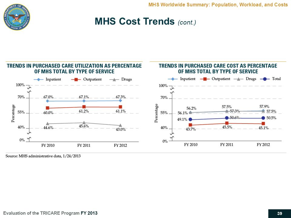 MHS Worldwide Summary: Population, Workload, and Costs