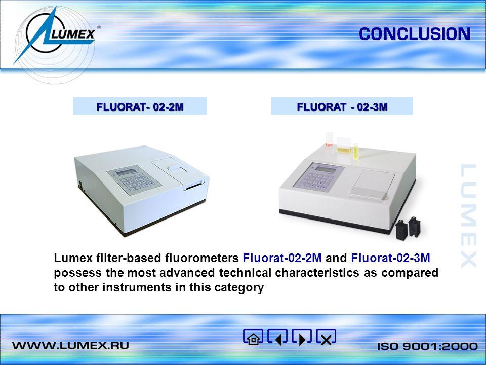 CONCLUSION FLUORAT- 02-2М. FLUORAT - 02-3М.