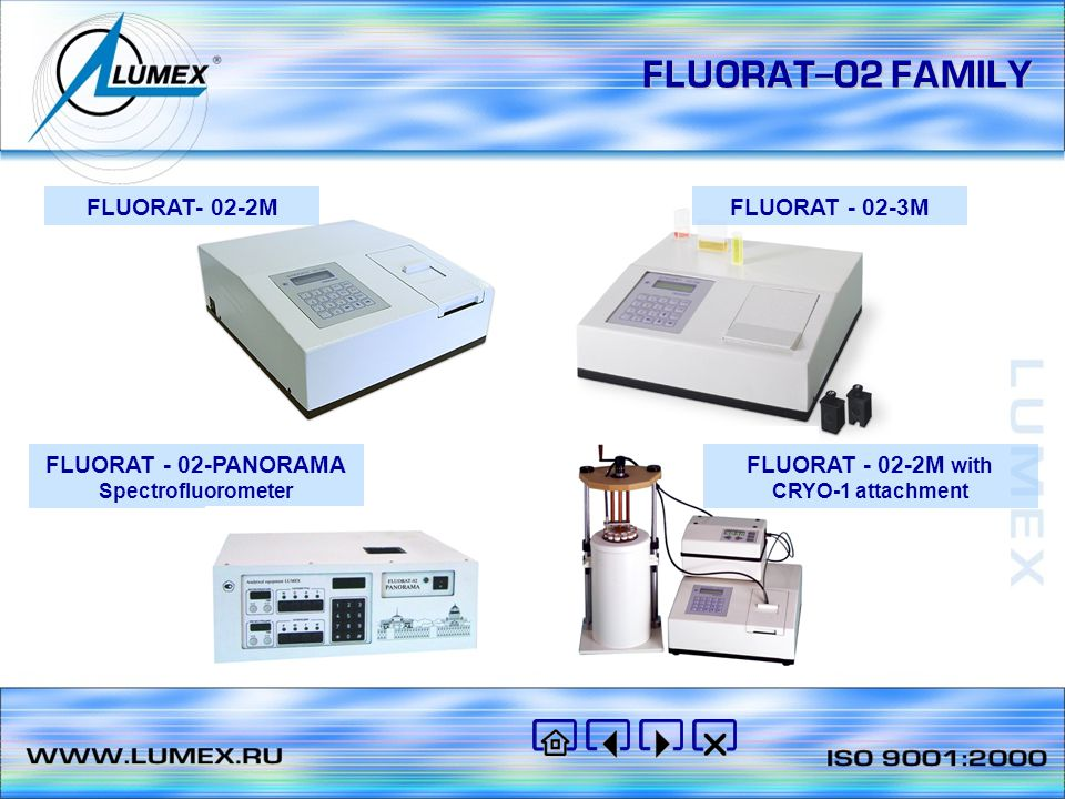 FLUORAT - 02-2М with CRYO-1 attachment