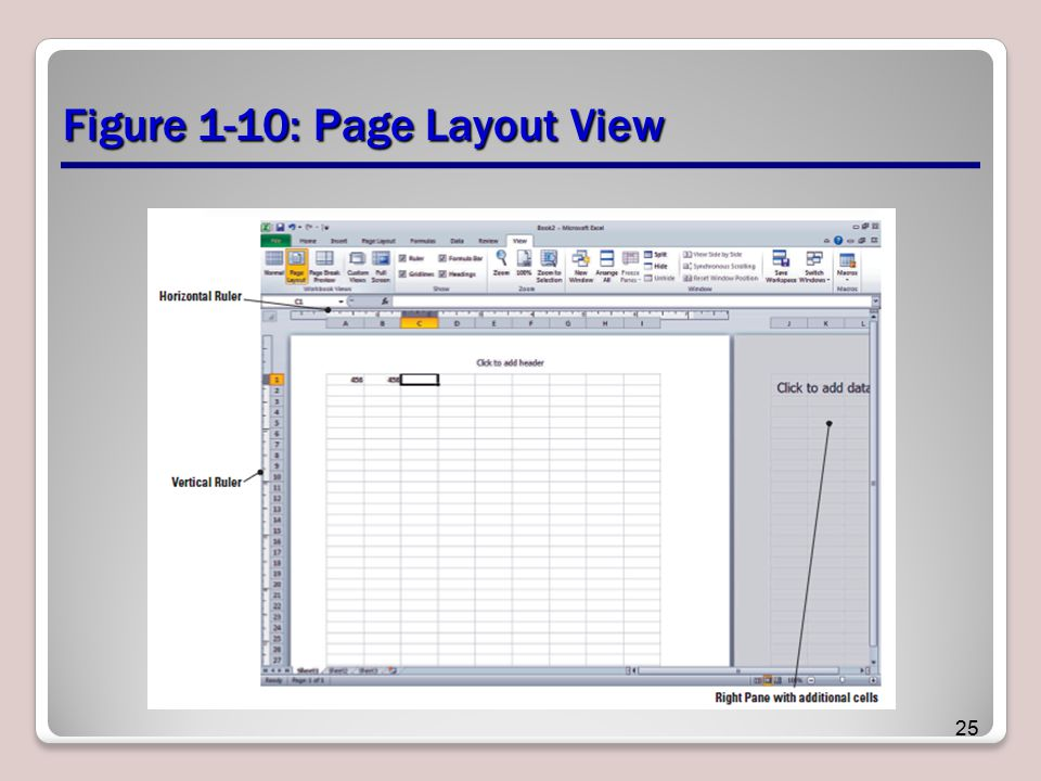 Figure 1-10: Page Layout View