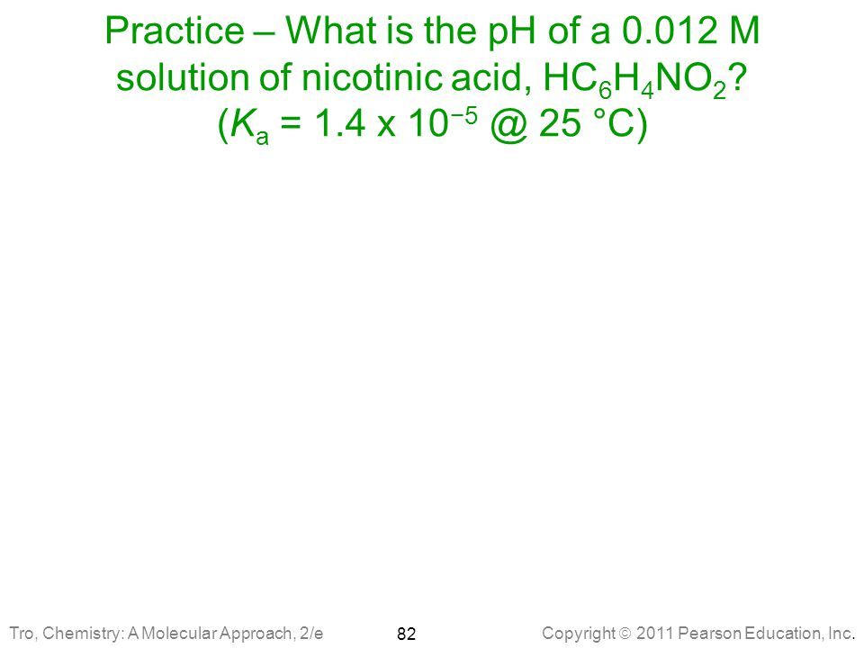 Practice – What is the pH of a 0