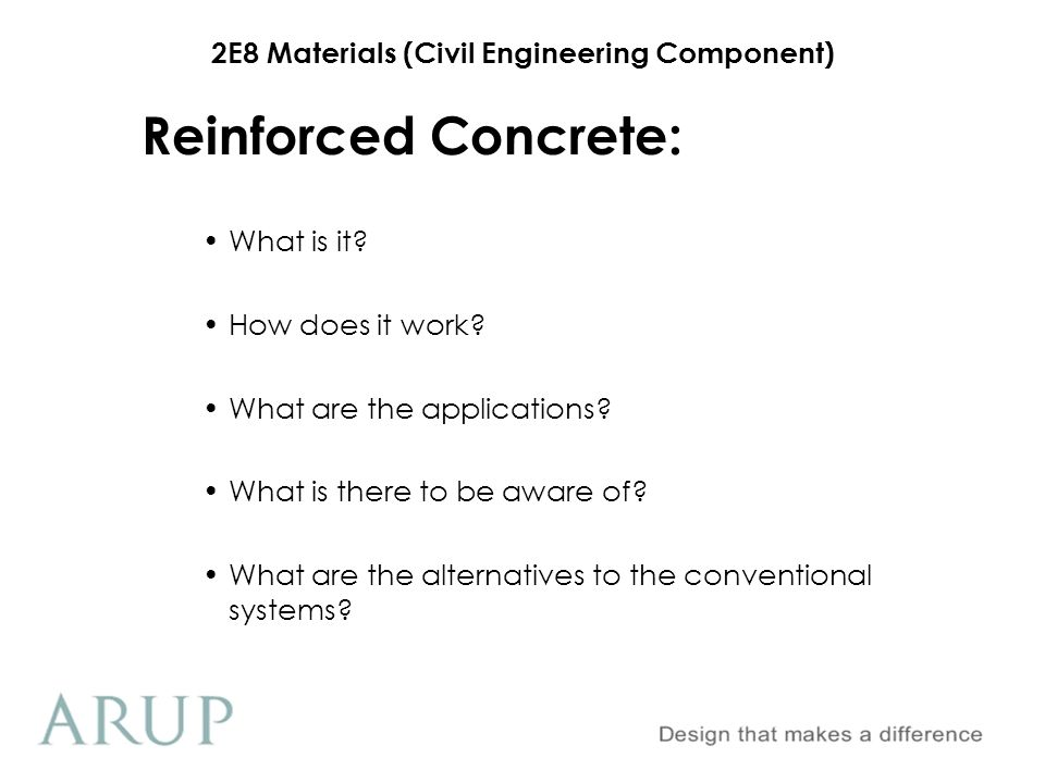 Reinforced Concrete: What is it How does it work