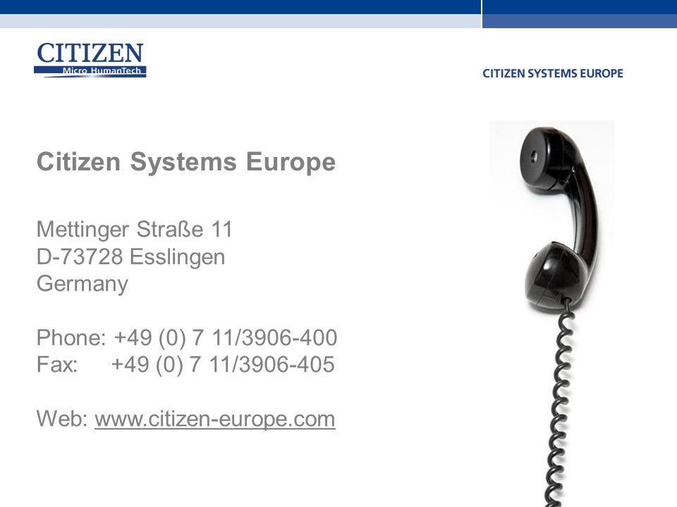 Citizen Systems Europe