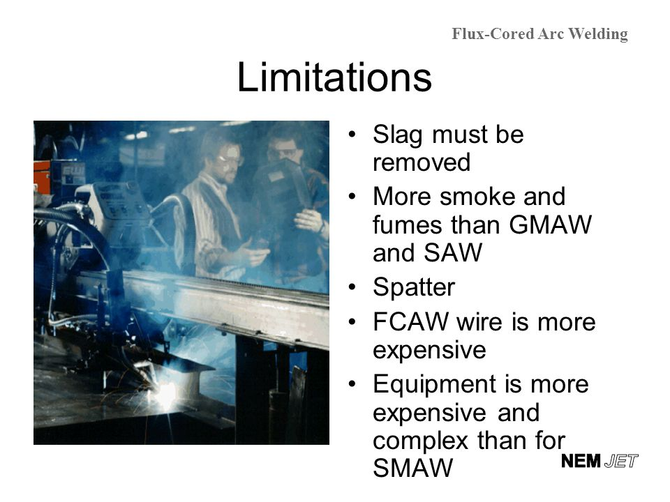 Flux Cored Arc Welding (FCAW) - ppt video online download
