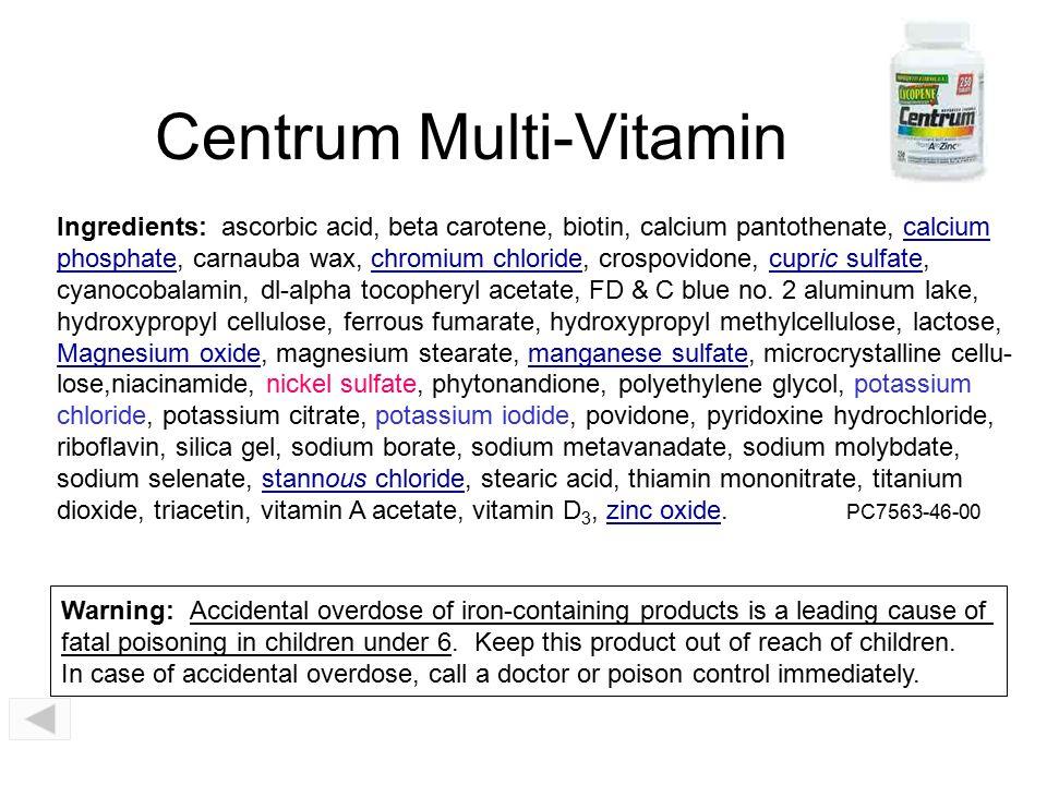 Centrum Multi-Vitamin