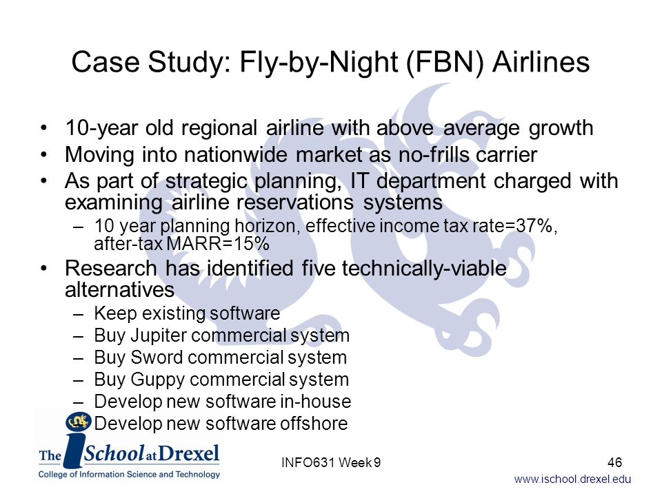 Case Study: Fly-by-Night (FBN) Airlines