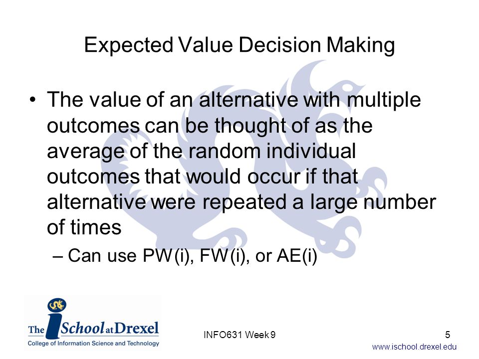Expected Value Decision Making