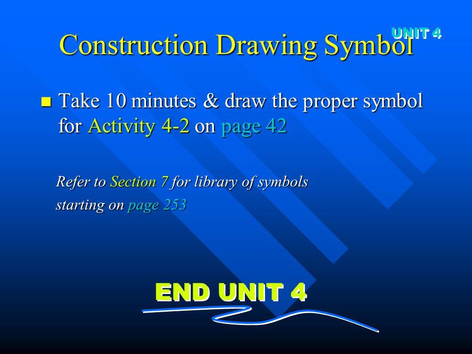 Construction Drawing Symbol