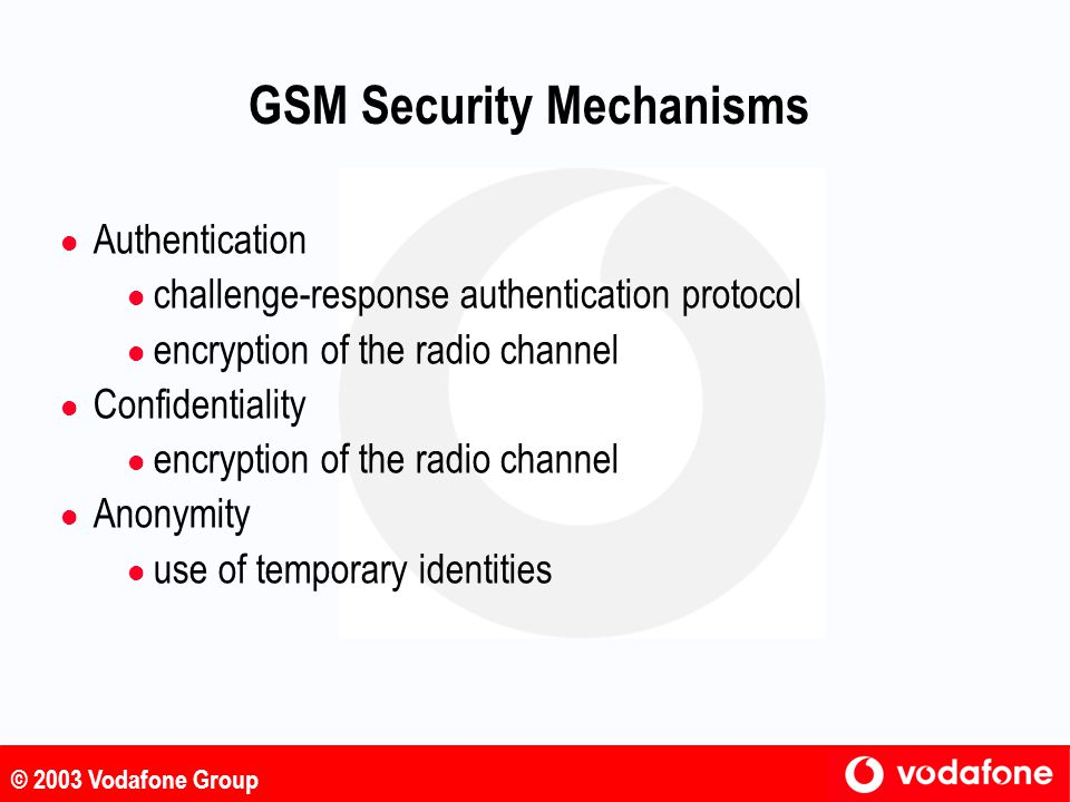 GSM Security Mechanisms