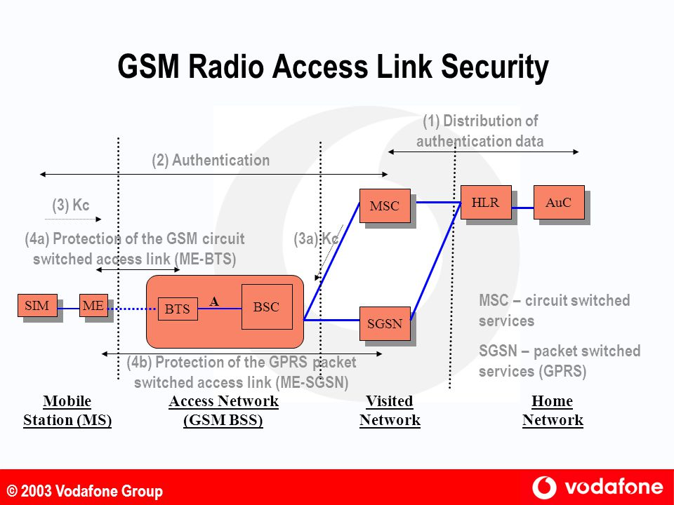 GSM Radio Access Link Security
