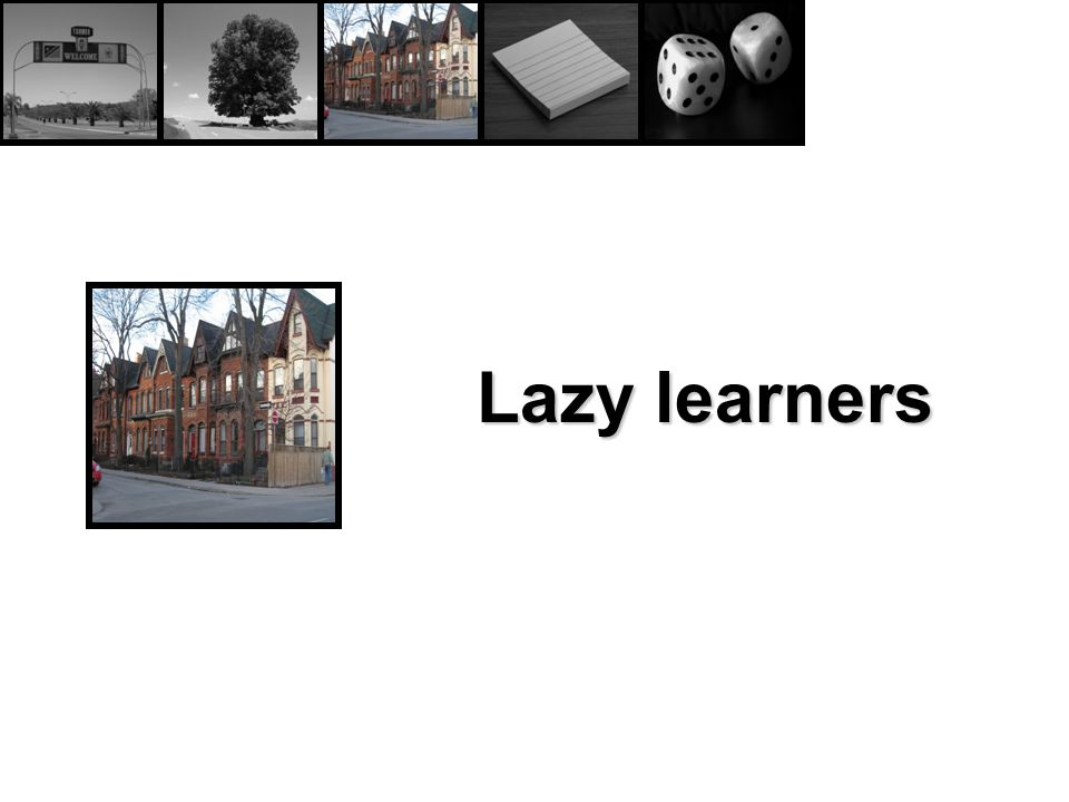 Lazy learners