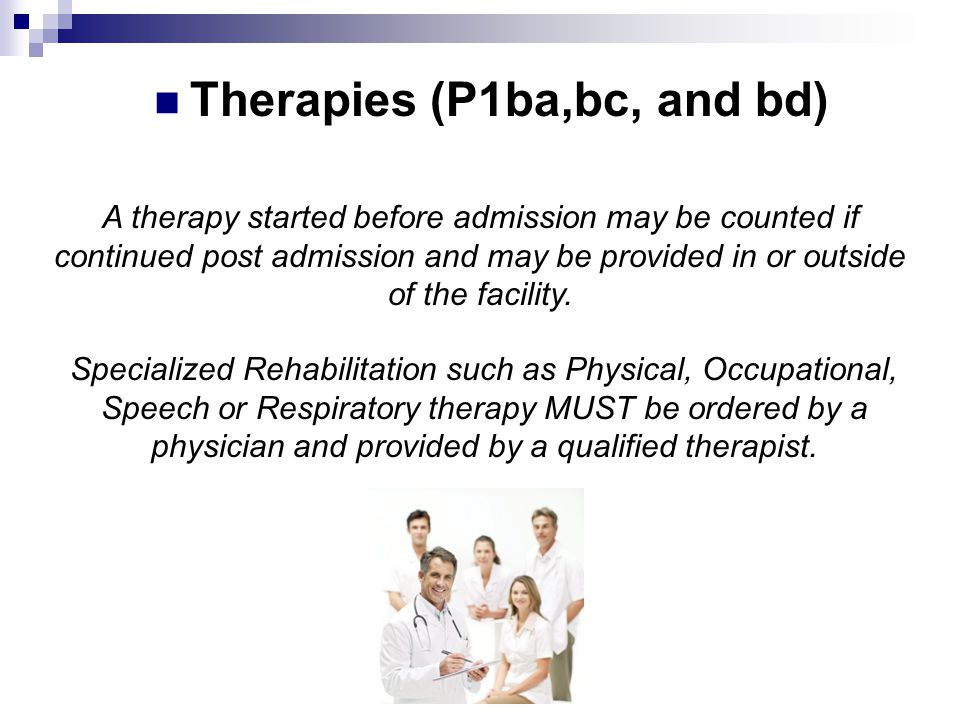Therapies (P1ba,bc, and bd)